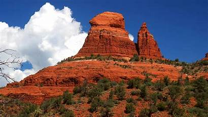 Desert Arizona Wallpapers Formations Rock Sunset Scenery