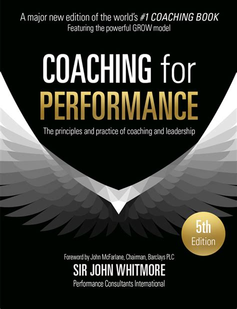 sir john whitmores coaching  performance book
