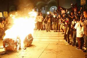 Left plans protests, possible violence, during Trump ...