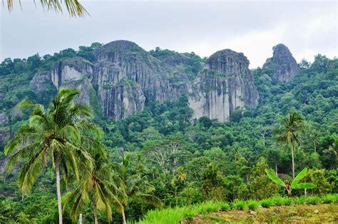 sejarah gunung api purba nglanggeran lokasi yogyakarta