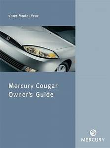 2002 Mercury Cougar Owners Manual User Guide Reference