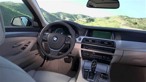 2014 New Bmw 5 Series Touring Interior Hd 530d Detail