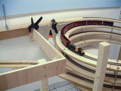 Stahlbahn  Unterbau Anlagenrahmen