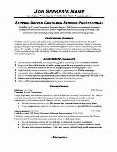 Customer Service Resume Sample 328 topresume