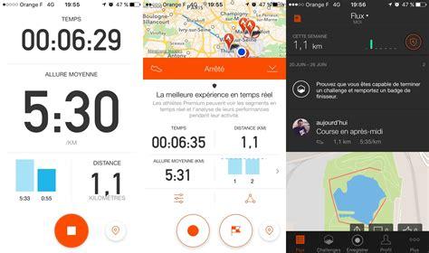application cuisine gratuite 5 applications gratuites pour courir sur android iphone