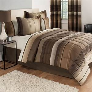 Mainstays, Ombre, Coordinated, Bedding, Set, With, Bedskirt, Bed