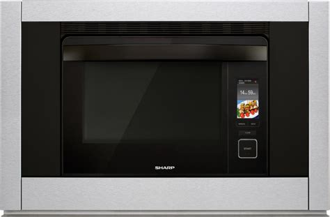 sharp  single electric built  wall oven stainless steel sscas texas appliance