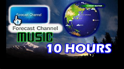 Wii Weather Forecast Channel Music (globe At