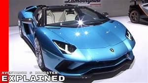 Lamborghini Aventador 2018 : 2018 lamborghini aventador s roadster explained youtube ~ Medecine-chirurgie-esthetiques.com Avis de Voitures