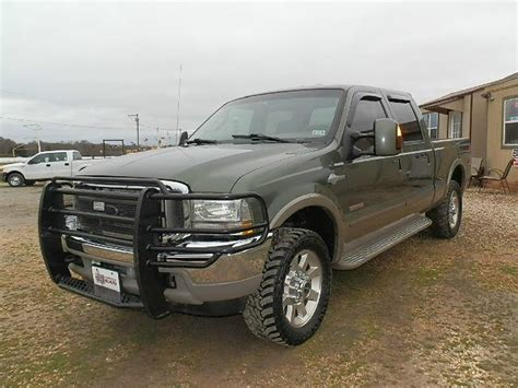 2004 Ford F 250 KING RANCH CREW 4X4 for sale in Canton TX
