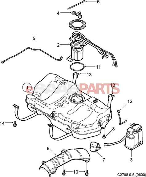 Saab Fuel Diagram by 25932571 Saab Purge Valve Evap Canister Saab Parts