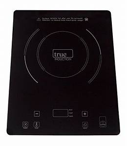 True Induction TI-1B Single Burner Counter Inset Energy ...