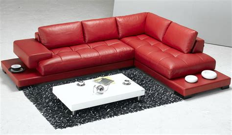 red sectional sofa with recliner 18 stylish modern red sectional sofas