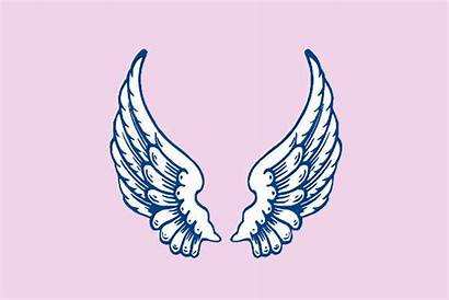 Angel Clipart Wings Svg Right Stay Cliparts