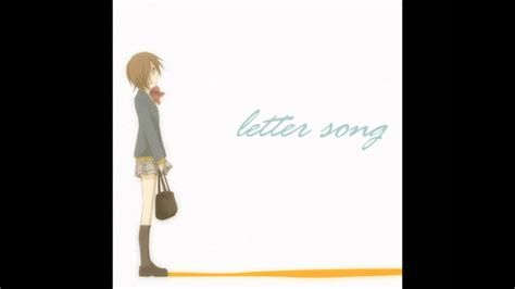 the letter of the day 中学生 letter song 歌ってみた 純玲 47244