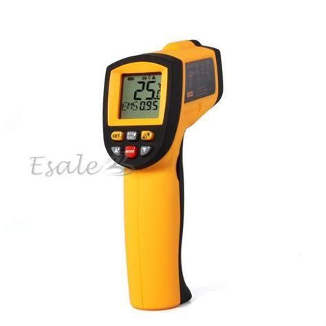 thermometre infrarouge cuisine thermomètre infrarouge ir laser sans contact sonde de