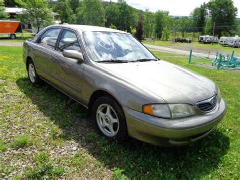 auto body repair training 1998 mazda 626 electronic valve timing sell used 1998 mazda 626 lx sedan 4 door 2 0l in canton pennsylvania united states