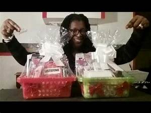 Christmas Gift Basket Tutorial Co Workers