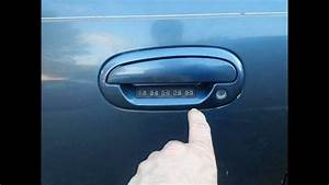 2000 Ford Excursion Door Code
