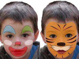 fasching schminken vorlagen kinderschminken einfache vorlagen f 252 r karneval kinder schminken karneval und