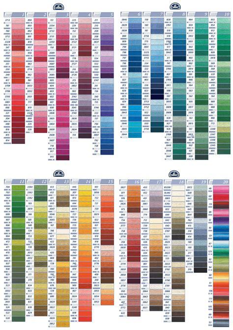 dmc color chart buy dmc stranded cotton dmc threads products