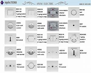 Electrical Socket Parts Telephone Outlet