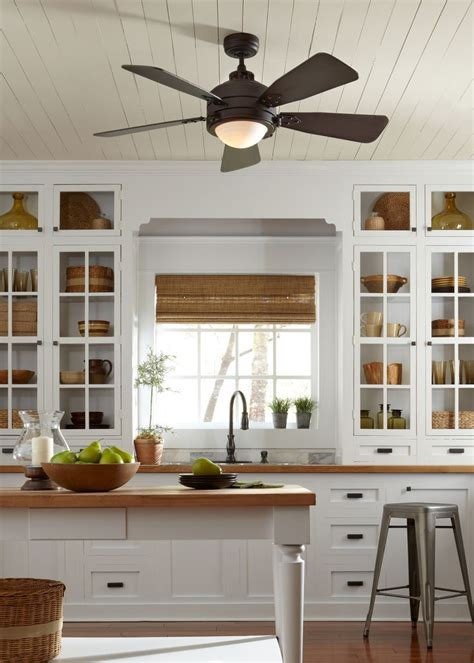 kitchen ceiling fans ideas 25 best ideas about kitchen ceiling fans on