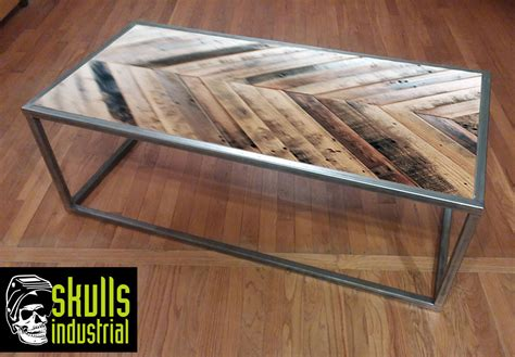Reclaimed Wood And Steel Coffee Table Industrial Coffee. Draw Leaf Table. Used Office Desks Dallas. Desk Workout Equipment. Front Desk Clerk Resume