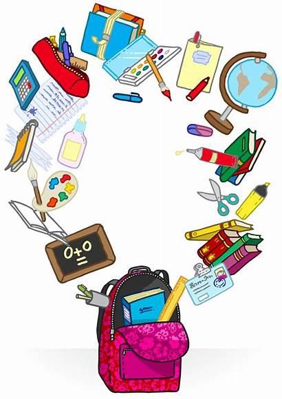 Supplies Cartoon Clipart Clip Related Cliparts Bag