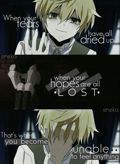 anime pandora hearts editor eneka anime qoutes sad