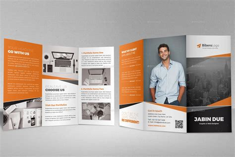 indesign trifold template tri fold brochure indesign theveliger