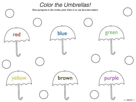 Color Green Worksheets