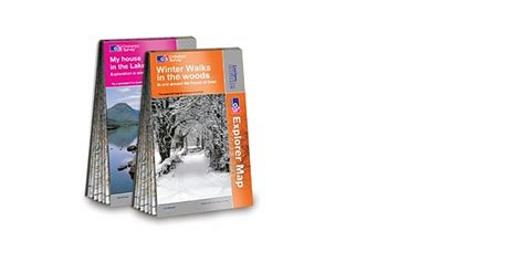 christmas gift idea for walkers a very special os map