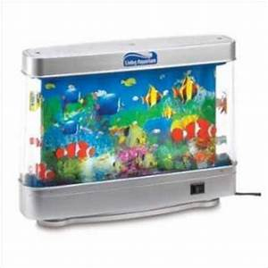 Kids Electric Fish Aquarium Animated Marine Lamp Moving