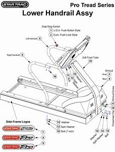 Star Trac Tr6600 Parts List And Diagram