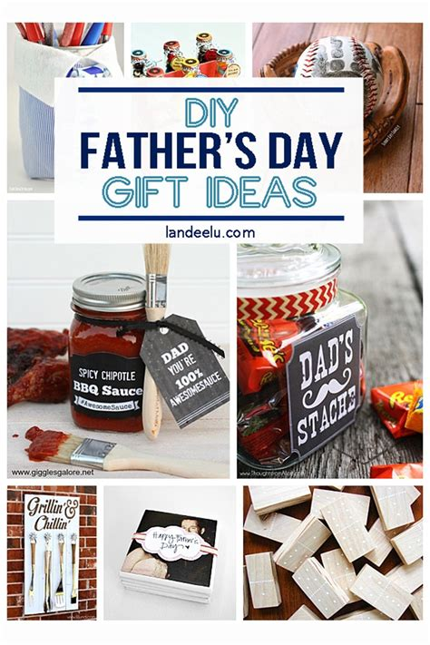 Diy Fathers Day Gifts  Celebrate Dad Landeelucom