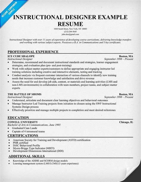 designer resume exle resumecompanion
