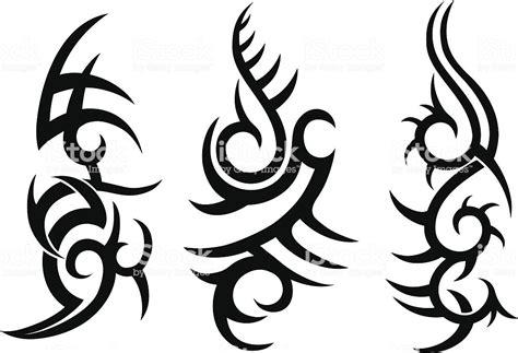 tribal tattoo designs stock illustration  image  istock