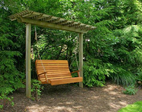 Porch Swing Bench by La Maison Boheme Bench Swing For The Garden