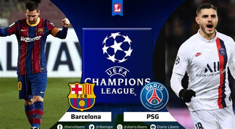 VER ESPN 2 EN VIVO Barcelona vs PSG apurogol Futbol Libre ...
