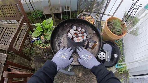 weber grill kugel kugel grill anz 252 nden mit bbq anz 252 nde kamin weber grill einfach und schnell befeuern anleitung