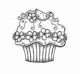 Coloring Cupcake Pages Colouring Cupcakes Printable Birthday Happy Adults Easy Sheet Adult Sheets Printables Cake Pantone Children Chainimage Tk Az sketch template