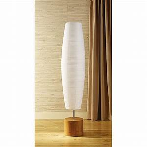 Stunning white rice paper lamp shades lamp shade white for Replacement shade for paper floor lamp
