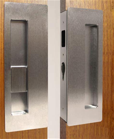 double sliding door hardware double pocket door lock