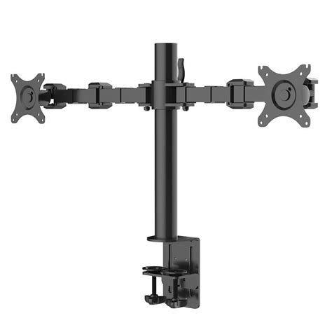 desk mount monitor arm dual fleximounts desk mount stand computer dual monitor arm