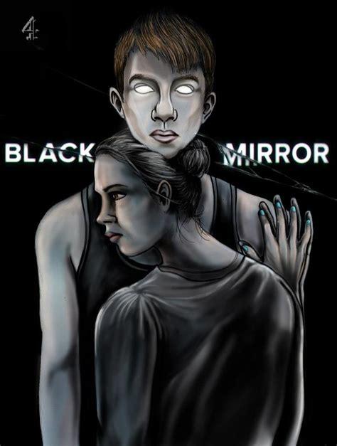 illustration based  charlie brookers series black