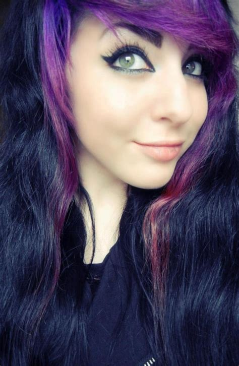 47 Best Purple Hair Images On Pinterest