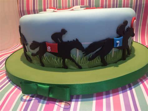 close   horse racing cake decoration inspiracje