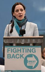 Farage launches Brexit Party and unveils Annunziata Rees-Mogg as MEP | Daily Mail Online