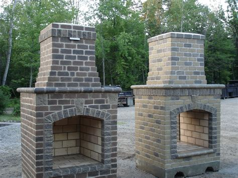 outdoor fireplace kits uk home design ideas  yard